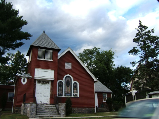 the old little Red Church