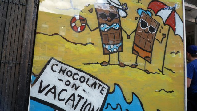 Chocolate on Vacation