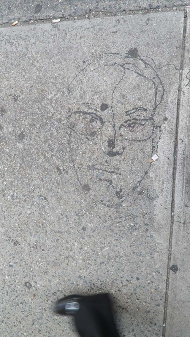 Drawing in concrete