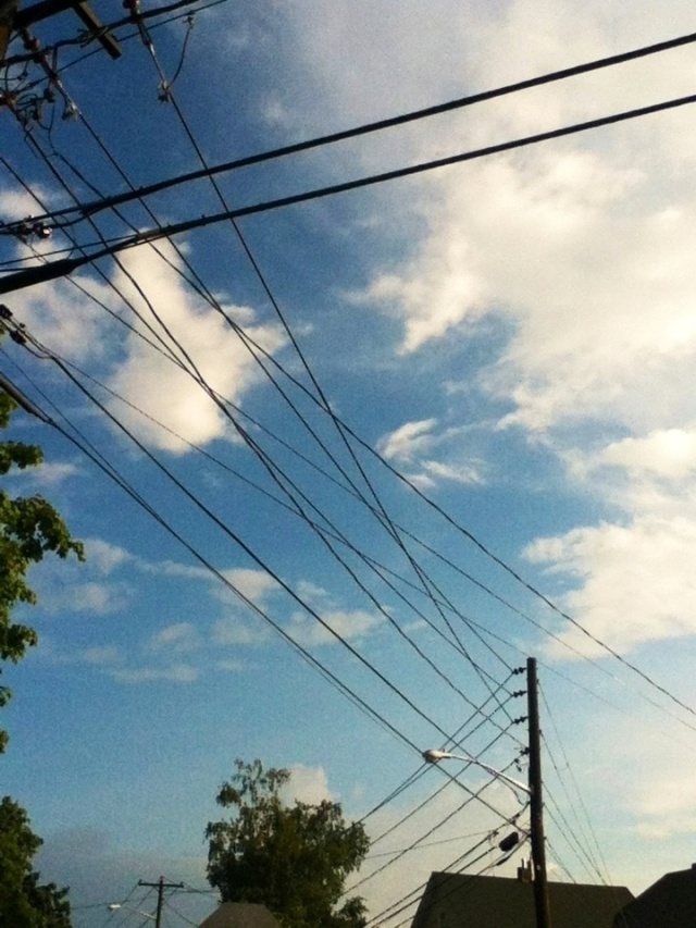 Interlacing wires